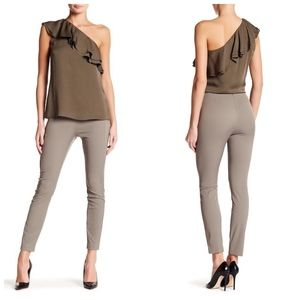 ❌SOLD❌ Theory taupe grey stretch dress pant